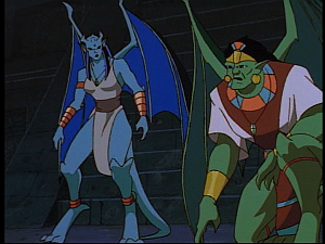 Disney Gargoyles - The Green - mayan gargs