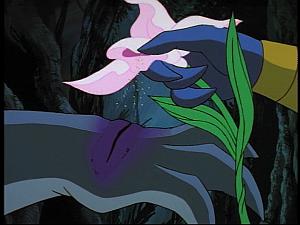 Disney Gargoyles - The Green - pollen on wound