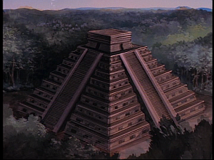 Disney Gargoyles - The Green - pyramid