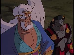 Disney Gargoyles - The New Olympians - boreas and taurus