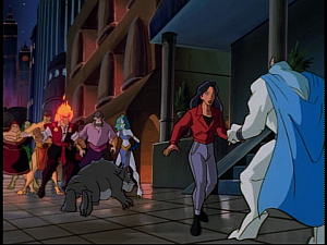 Disney Gargoyles - The New Olympians - elisa in mob