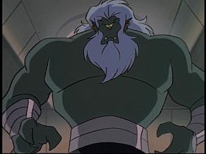 Disney Gargoyles - The New Olympians - proteus as cyclops