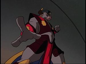 Disney Gargoyles - The New Olympians - taurus punching