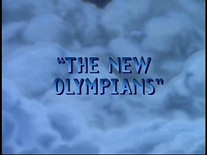 Disney Gargoyles - The New Olympians - title