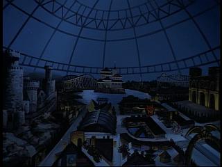 Disney Gargoyles - Bushido - amusement park