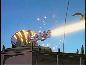 Disney Gargoyles - Bushido - auto laser cannon