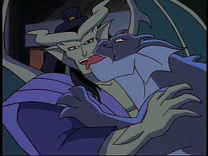 Disney Gargoyles - Bushido - bronx greets kai