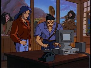 Disney Gargoyles - Bushido - elisa cop computer