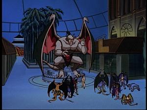 Disney Gargoyles - Bushido - giant gargoyle