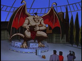 Disney Gargoyles - Bushido - taro in giant gargoyle