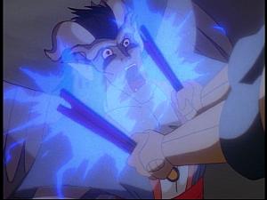 Disney Gargoyles - Bushido - yama electrocuted