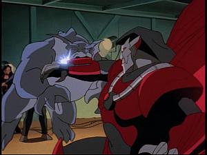 Disney Gargoyles - Cloud Fathers - bronx attacks xanatos