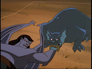 Disney Gargoyles - Cloud Fathers - bronx frees goliath