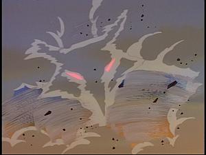 Disney Gargoyles - Cloud Fathers - coyote cloud storm