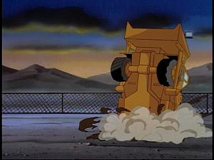 Disney Gargoyles - Cloud Fathers - dump truck flipped