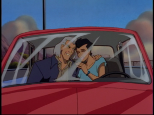 Disney Gargoyles - Cloud Fathers - peter and beth maza in truck
