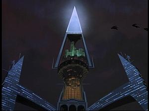 Disney Gargoyles - Future Tense - eyrie pyramid
