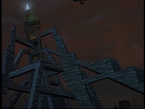 Disney Gargoyles - Future Tense - eyrie tower