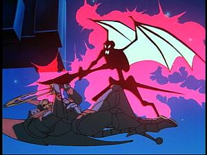 Disney Gargoyles - Future Tense - hudson electrocuted