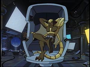 Disney Gargoyles - Future Tense - lex in hover chair
