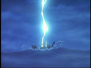 Disney Gargoyles - Future Tense - lightning