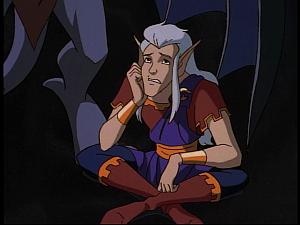 Disney Gargoyles - Future Tense - puck sad