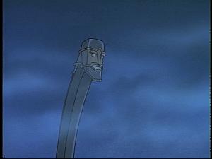 Disney Gargoyles - Future Tense - skiff face