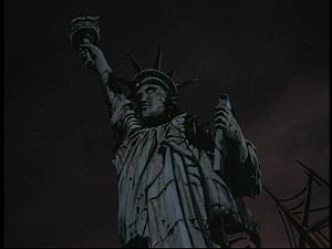 Disney Gargoyles - Future Tense - statue of liberty