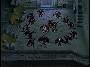 Disney Gargoyles - Future Tense - surrounded