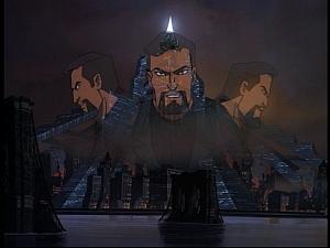 Disney Gargoyles - Future Tense - xanatos hologram