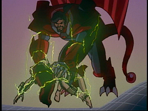 Disney Gargoyles - Future Tense - xanatos kills demona
