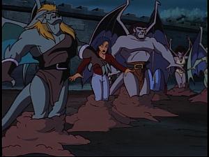 Disney Gargoyles - Ill Met by Moonlight - dirt swallows clan