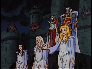 Disney Gargoyles - Ill Met by Moonlight - oberon titania weird sisters