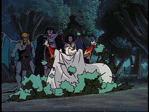 Disney Gargoyles - Ill Met by Moonlight - pit trap oberon