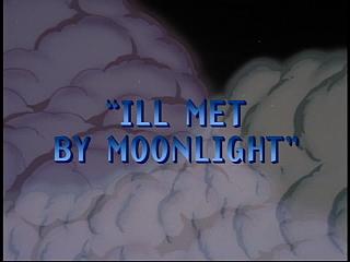 Disney Gargoyles - Ill Met by Moonlight - title