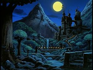 Disney Gargoyles - The Gathering - avalon castle