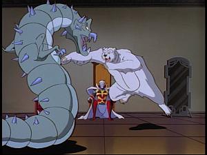 Disney Gargoyles - The Gathering - banshee odin animals