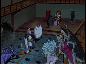 Disney Gargoyles - The Gathering - children of oberon line
