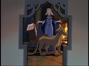 Disney Gargoyles - The Gathering - katherine and boudicca