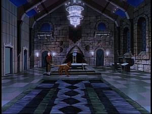 Disney Gargoyles - The Gathering - oberon in great hall