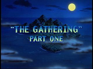 Disney Gargoyles - The Gathering - title