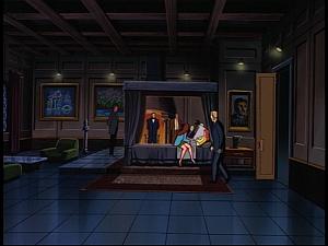 Disney Gargoyles - The Gathering - xanatos bedroom