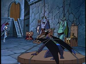 Disney Gargoyles - The Reckoning - clan captured