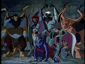 Disney Gargoyles - The Reckoning - clones clan