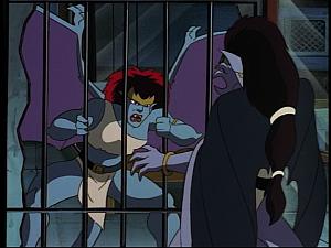 Disney Gargoyles - The Reckoning - demona and angela