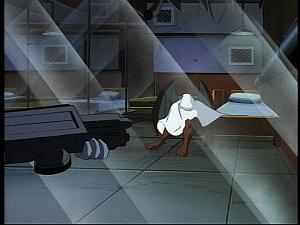 Disney Gargoyles - The Reckoning - fang under sheet