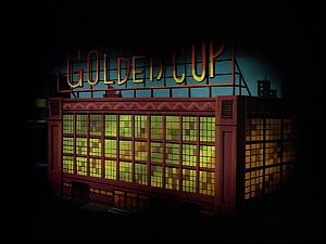 Disney Gargoyles - The Reckoning - golden cup