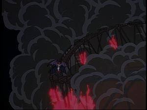 Disney Gargoyles - The Reckoning - thailog fights demona fire