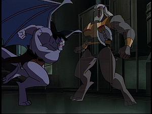 Disney Gargoyles - Vendettas - ghost wolf