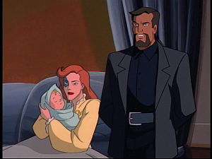 Disney Gargoyles - the Gathering - fox confident in xanatos